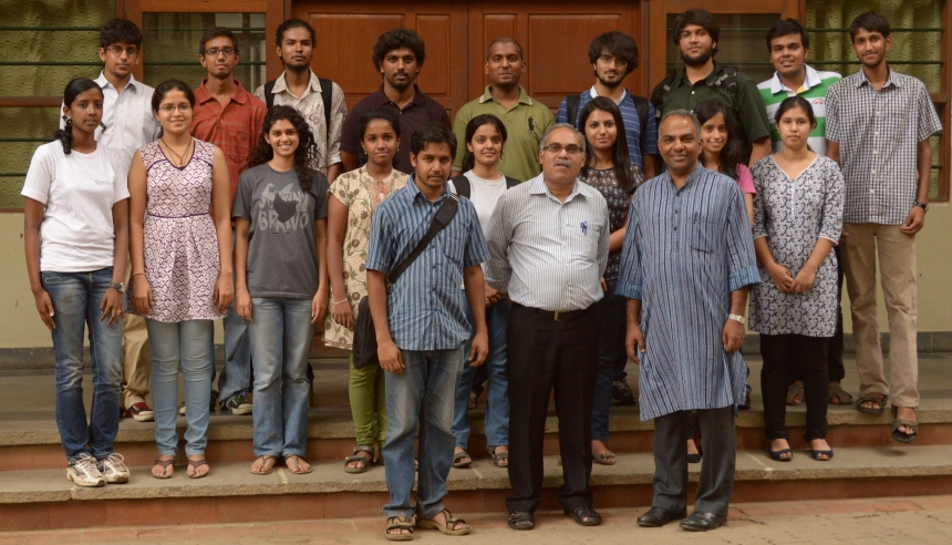 Students who participated in short-course on Mapping Essentials at St. Joseph's College.