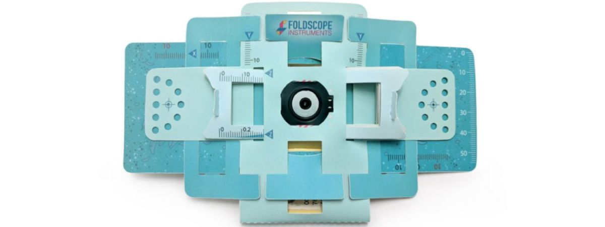 The Foldscope by Foldscope Instruments Inc.